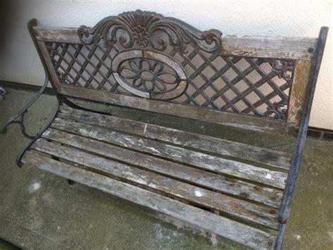 wrought iron garden benches sale cast iron garden bench for sale in ballycullen dublin