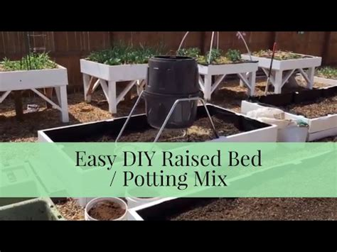 soil mix for raised beds save by making your own raised bed potting soil mix