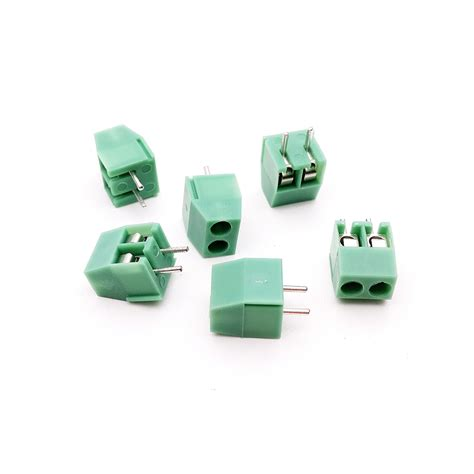 Terminal Block Hijau Kf350 2pin Pitch 3 5mm Kualitas No 1 Aliexpress Buy High Quality 100pcs 3 5mm Pitch