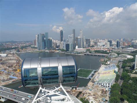 Tiket Singapore Flyer Peak Dewasa hari ke 4 singapura jejak kaki