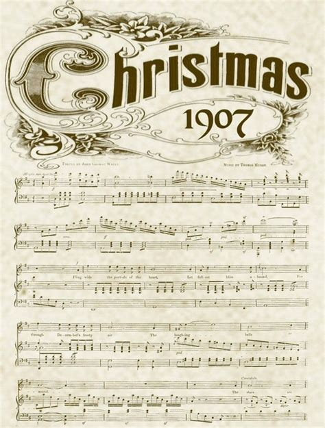 printable xmas sheet music printable vintage christmas music sheets and 6 holiday