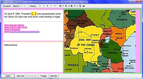 africa map zoom supermemo visual learning
