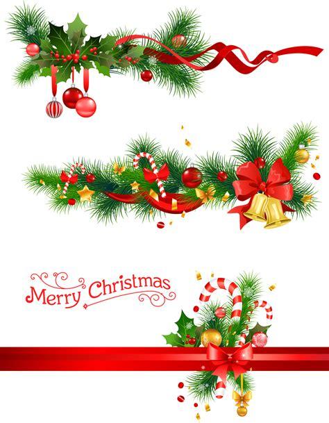 card frames templates pine boughs 圣诞节铃铛与松枝png透明无水印图片素材免费分享下载 精品资源分享