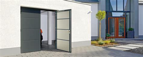 Houten Openslaande Garagedeuren by Openslaande Garagedeur H 246 Rmann Donkers Takkenberg