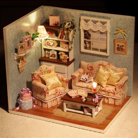 1 set doll house furniture diy miniature dust cover 3d
