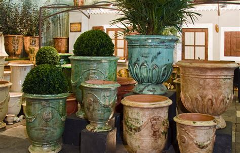 Poterie La Madeleine by Anduze Terracotta Garden Pots The House