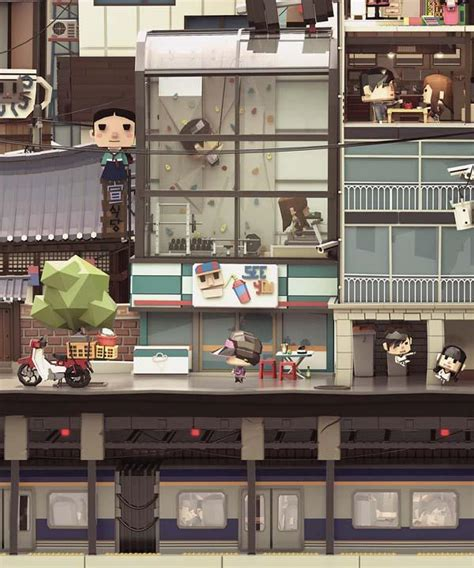 Papercraft Shows 2014 - the awesome papercraft styled illustration shows the city