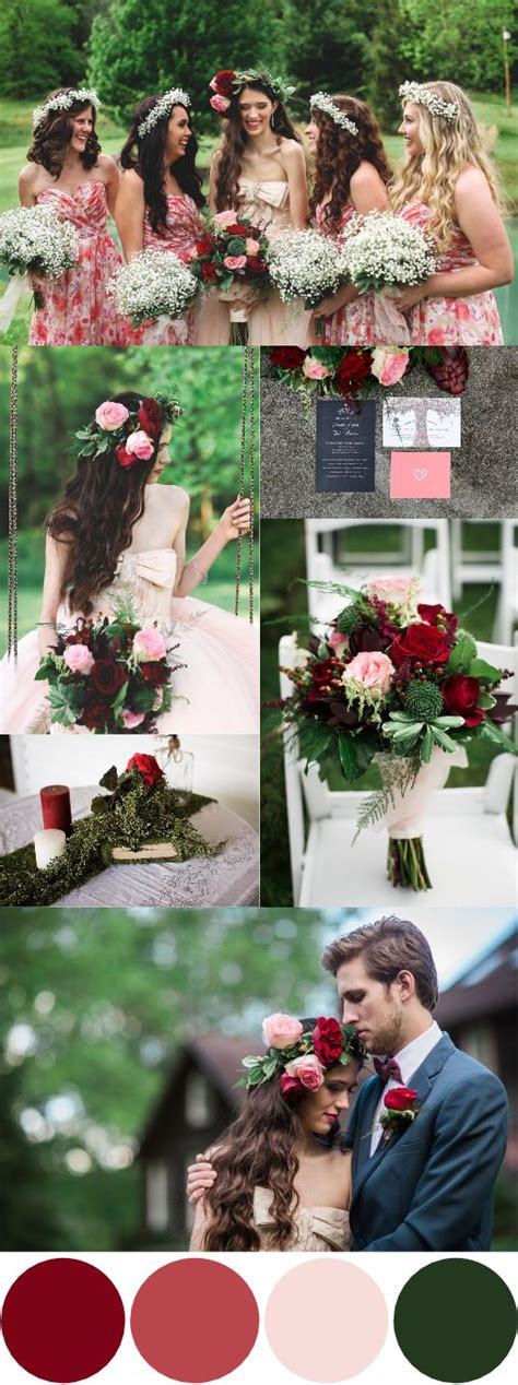 wedding colour themes meaning fall wedding color palettes that are the sheer definition