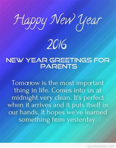 new year wishes to parents best happy new year messages to my 2016