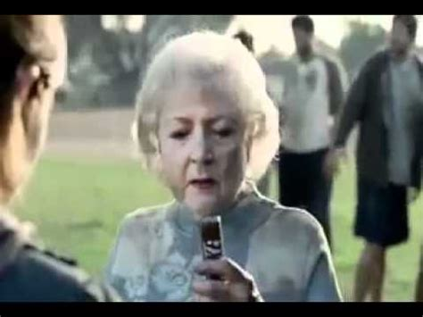 sneakers commercial betty white snickers commercial