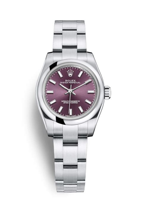 rolex m rolex oyster perpetual 26 oystersteel 176200
