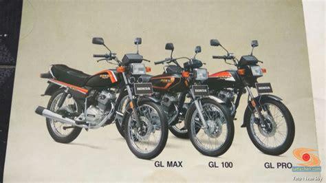 Sparepart Honda Gl Max ini beda honda gl max gl 100 dan gl pro brosis