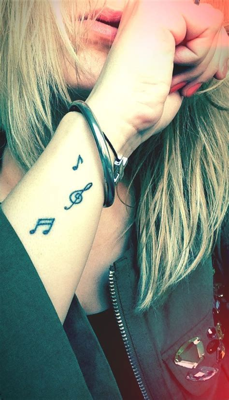 small music tattoos 20 best musical tattoos images on