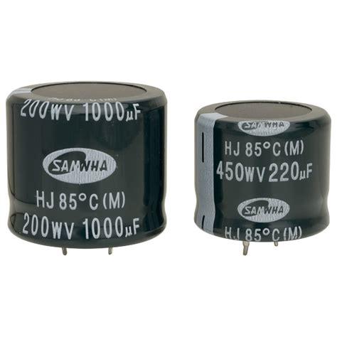 samwha hc capacitor samwha capacitor review 28 images samwha hc1j109m35040ha 10000uf 63v 85deg hc snap in