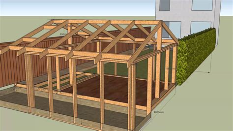 how to frame a house house with garden shed v5 frame v4 deck frame v1 roof v1