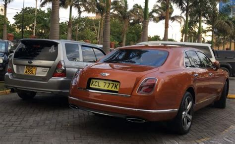 bentley kenya kusota ni wewe another sh40 million bentley mulsanne