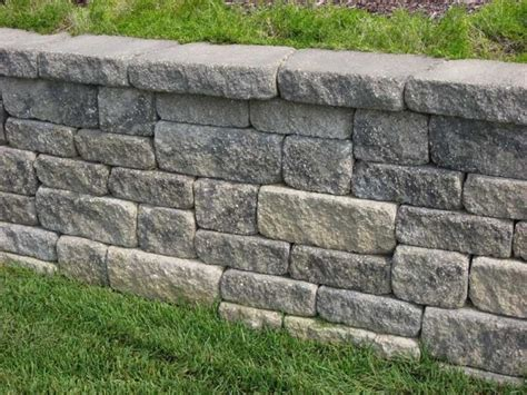 midwest block segmental retaining walls traditional