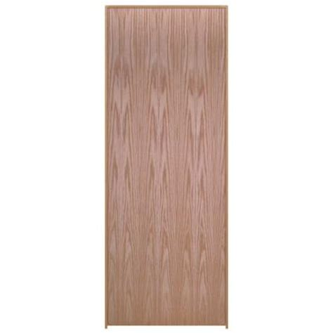 oak interior doors home depot masonite 24 in x 80 in smooth flush hardwood hollow core