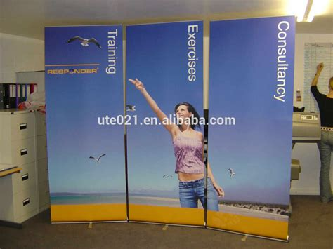 Roller Banner With Stand 85x200 Wholesale Advertising Pull Up Banner Roll Up Vinyl