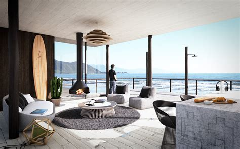 modern beach house interior design the best beach house design in britain called the kench