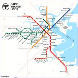 Mbta Green Line Map by Mbta T Bing Images