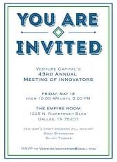 sle invitations for business events shop business and corporate event invitations by cardsdirect 174