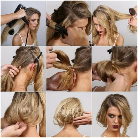 can you tie back a long bob faux bob how to party hairstyles party hair tips