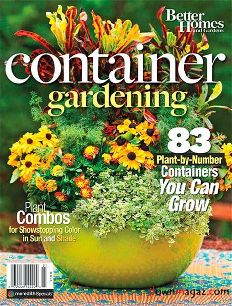 better homes and gardens container gardening 2012