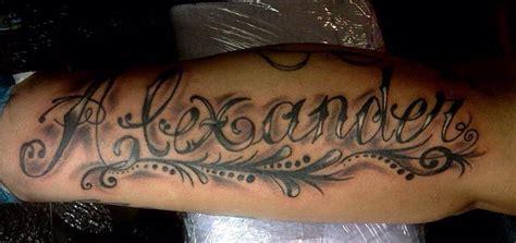 tattoo name designs on forearm 37 forearm name tattoos