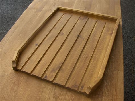 wooden drainer for belfast sink angled large draining board belfast sink butler drainer