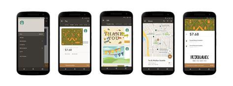 starbucks app android starbucks android material design androidpub