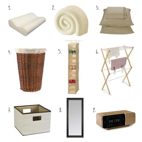 bedroom necessities 1000 ideas about first college apartment on pinterest