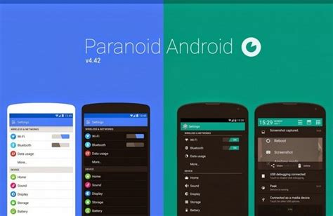 paranoid android rom top 5 cyanogenmod alternative custom roms you can install beebom