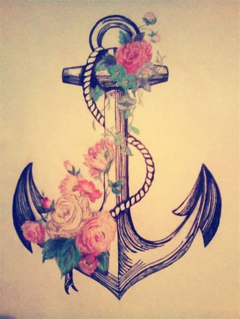 anchor tattoo tumblr best 25 anchor illustration ideas on anchor