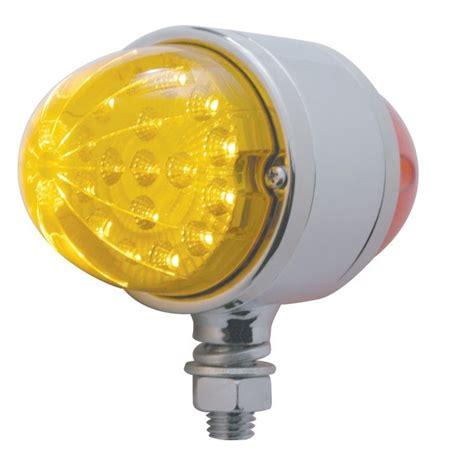led lights for semi trucks 17 led double face light turn signal amber led red led