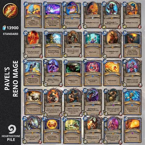 best decks hearthstone best 25 best mage deck hearthstone ideas on