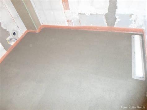 estrich duschbereich kollar gmbh referenzen bad renovierung 7
