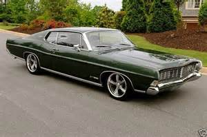 68 ford galaxie i had the base model back in 69 bought it