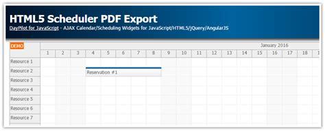 tutorial html5 css javascript tutorial html5 scheduler pdf export javascript