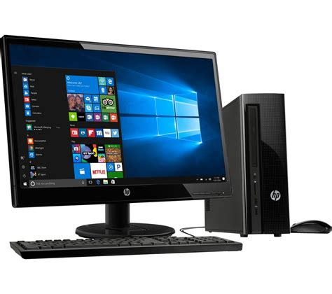 Pc Desk Top hp 260 a104na desktop pc 22kd hd 21 5 quot led monitor
