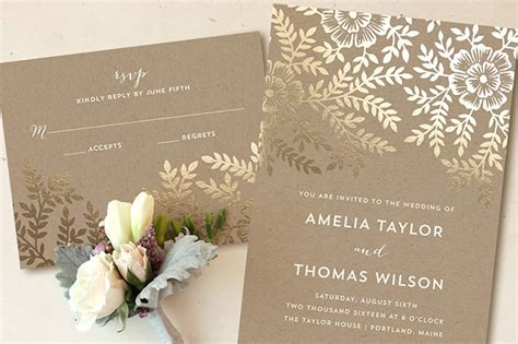 foil pressed wedding invites foil pressed invitations from minted a giveaway