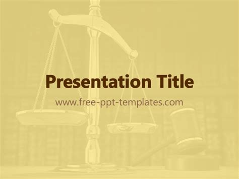ppt themes law law ppt template