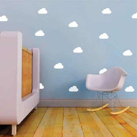 trendy wall designs kids bedroom clouds nursery decals trendy wall designs