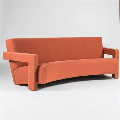 utrecht sofa quot utrecht quot curved sofa by gerrit thomas rietveld for