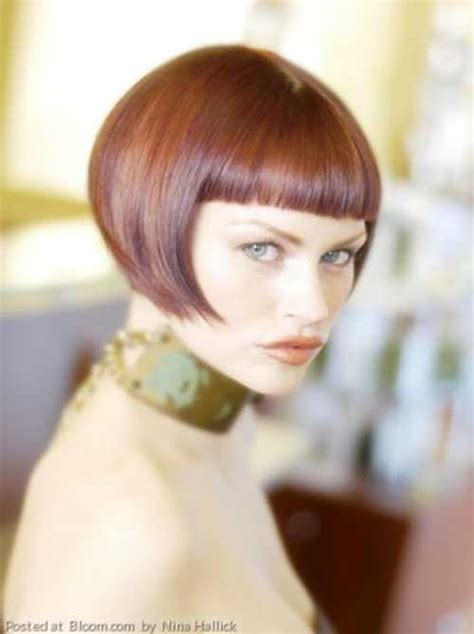 bobcut with straight bangs nice short straight hairstyles with bangs short