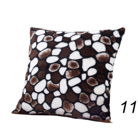 leopard print home decor animal zebra leopard print pillow case waist throw cushion cover sofa home decor ebay
