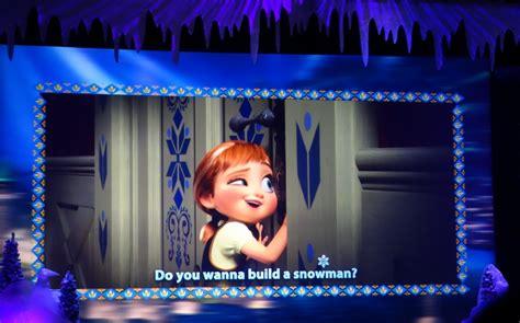 film frozen sing along review the frozen sing along celebration at disney s