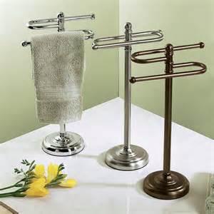 Free standing towel racks for outstanding bathroom ideas homesfeed