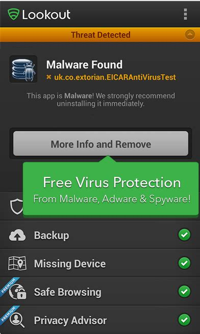 lookout app android best 5 free android antivirus apps to keep your android safe android garden