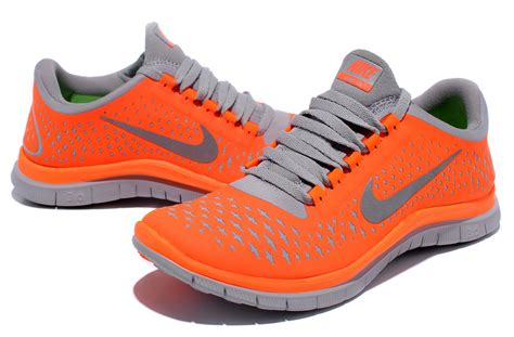 gray and orange nike running shoes nike free run 3 0 v4 orange grey womens unique running